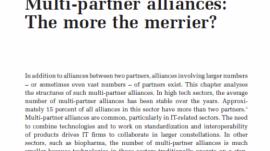 Multi-partner alliances