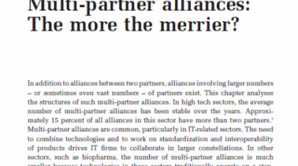 Multi-partner alliances