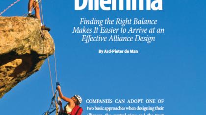 Control-trust dilemma